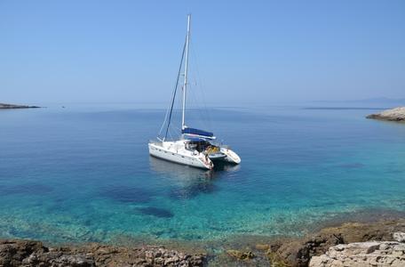 Catamaran charter croatia privilege 465 pantarhei 2