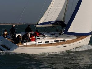 Dufour425 sailing 2 croyachting