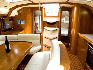 Jeanneau sun odyssey 49 luxury sail boat rent charter greece saloon %282%29 pic15