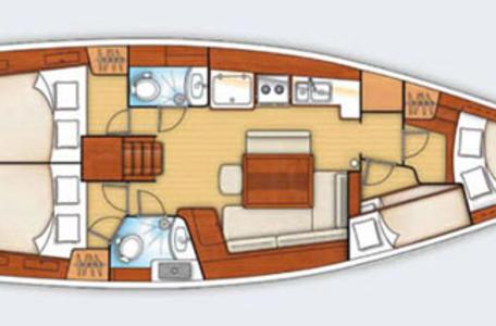 Beneteau oceanis 43 family karmen 34