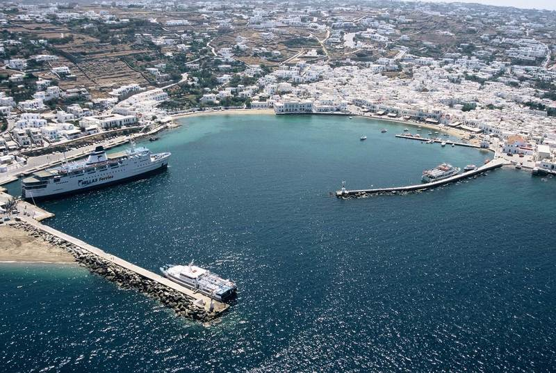 Old Mykonos Port, 200291